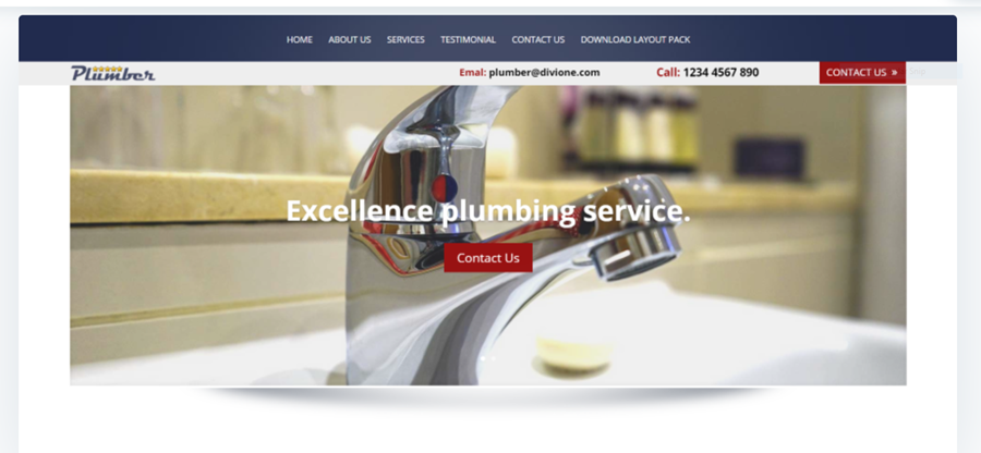 Divi Plumber Layout Makes Life So Much Easier (and Interesting)